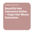 Beautiful Hair Extensions Online image 5