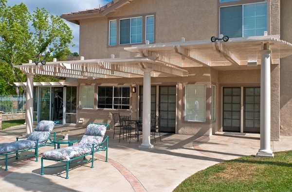 Ultra Patios   Patio Covers Las Vegas   Alumawood Lattice Patio Covers