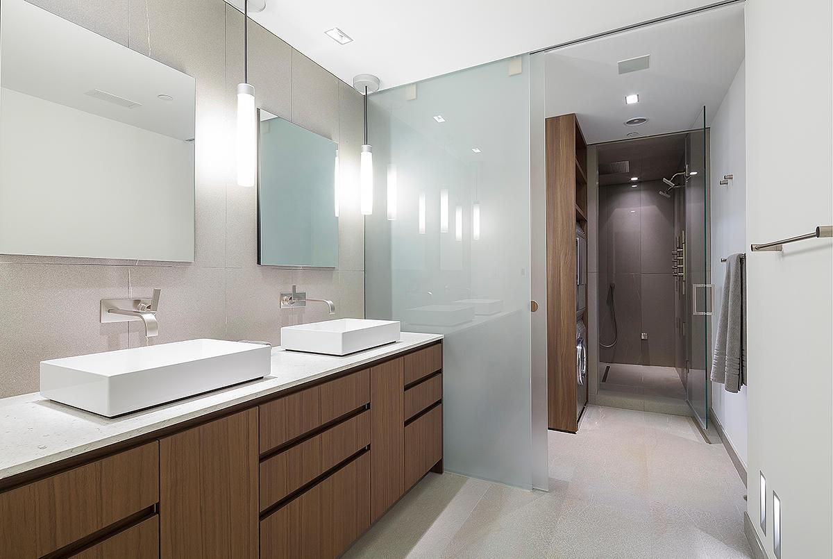 Poliform Sagart Studio Washington Dc Bathroom Remodeling