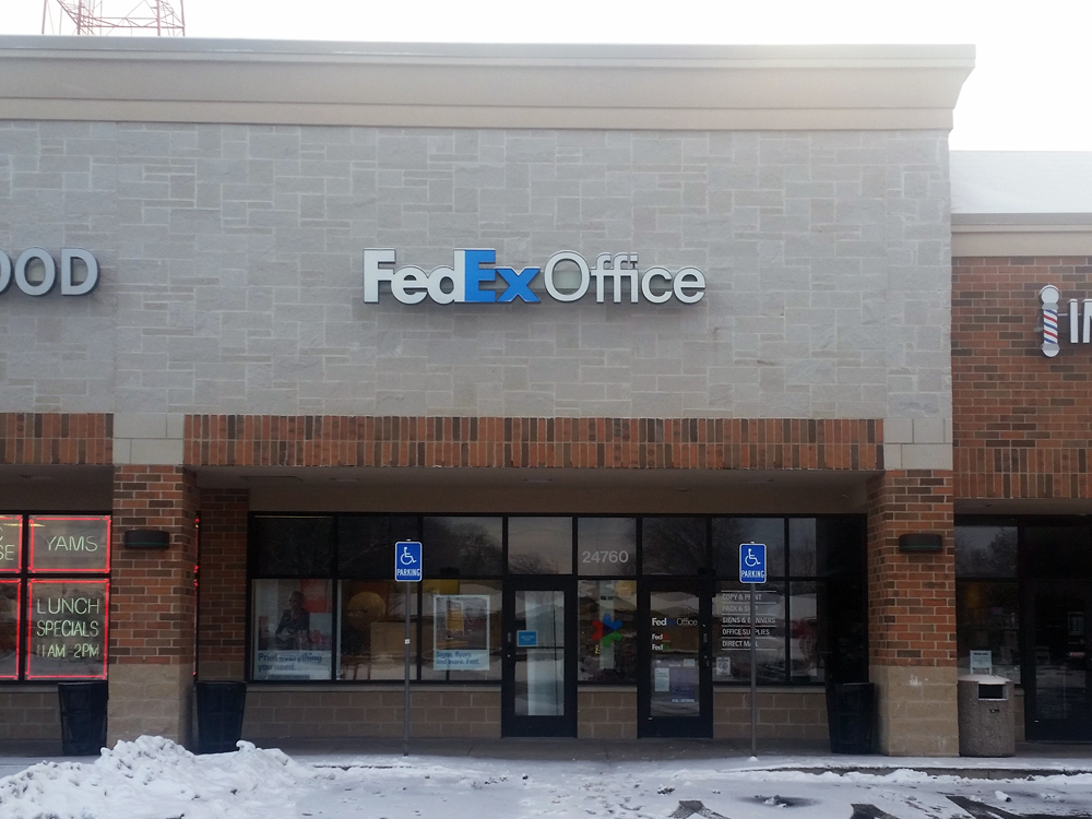 Fedex office print ship center in oak park mi whitepages for Motor city soul food southfield michigan