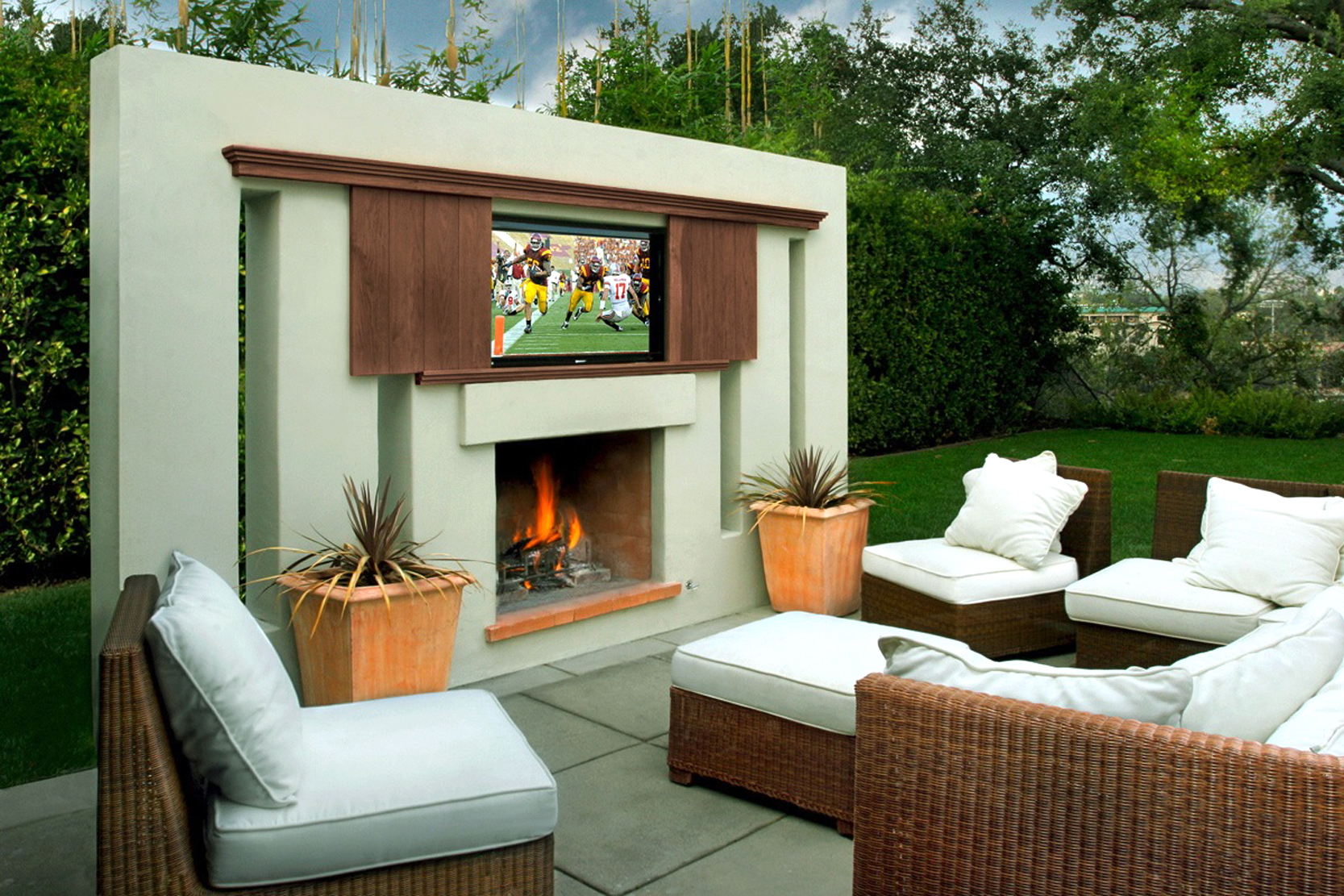 Modern Outdoor Fireplace Designs Best Fireplace 2017 .