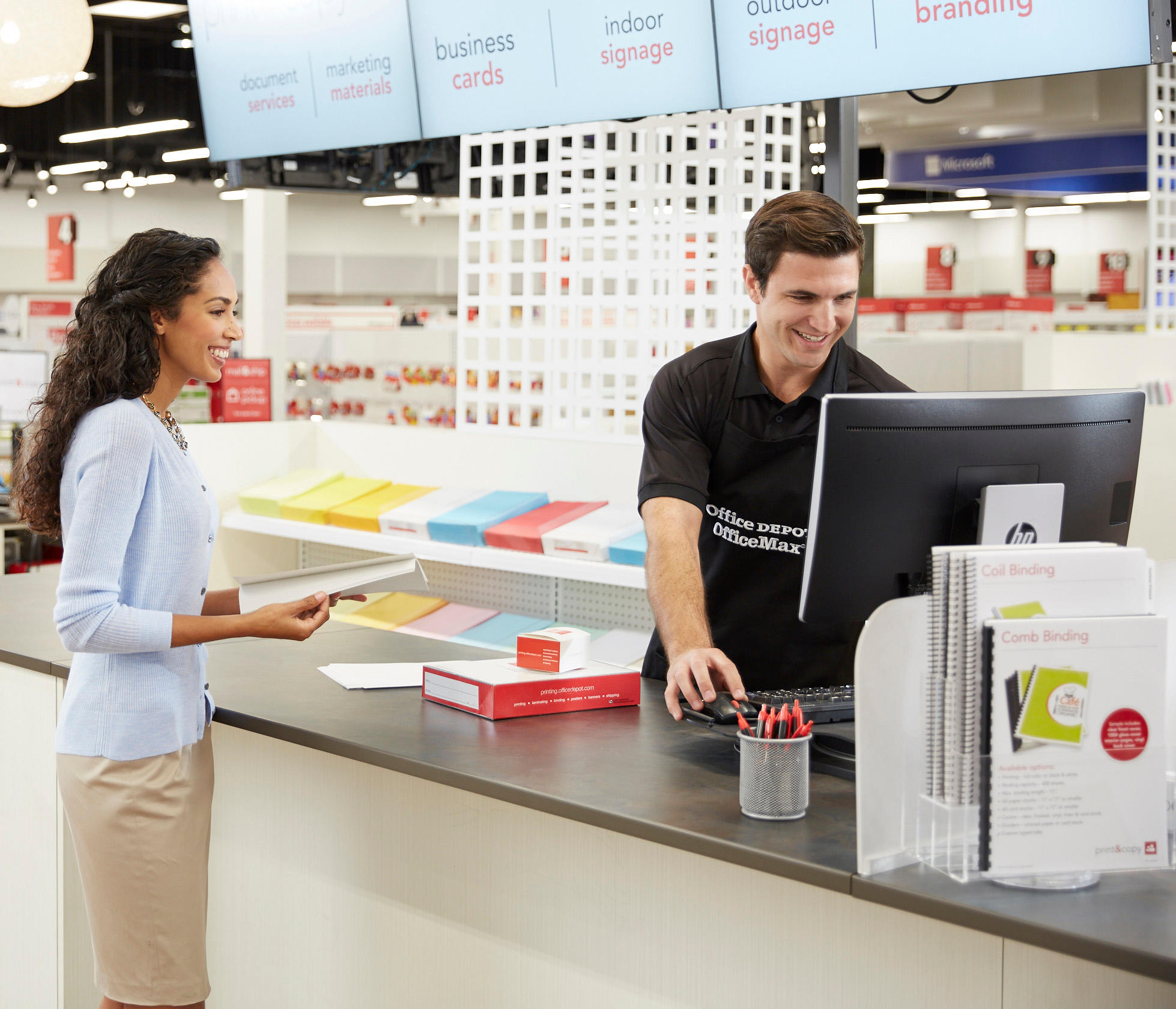 Office Depot - Print & Copy Services image 3