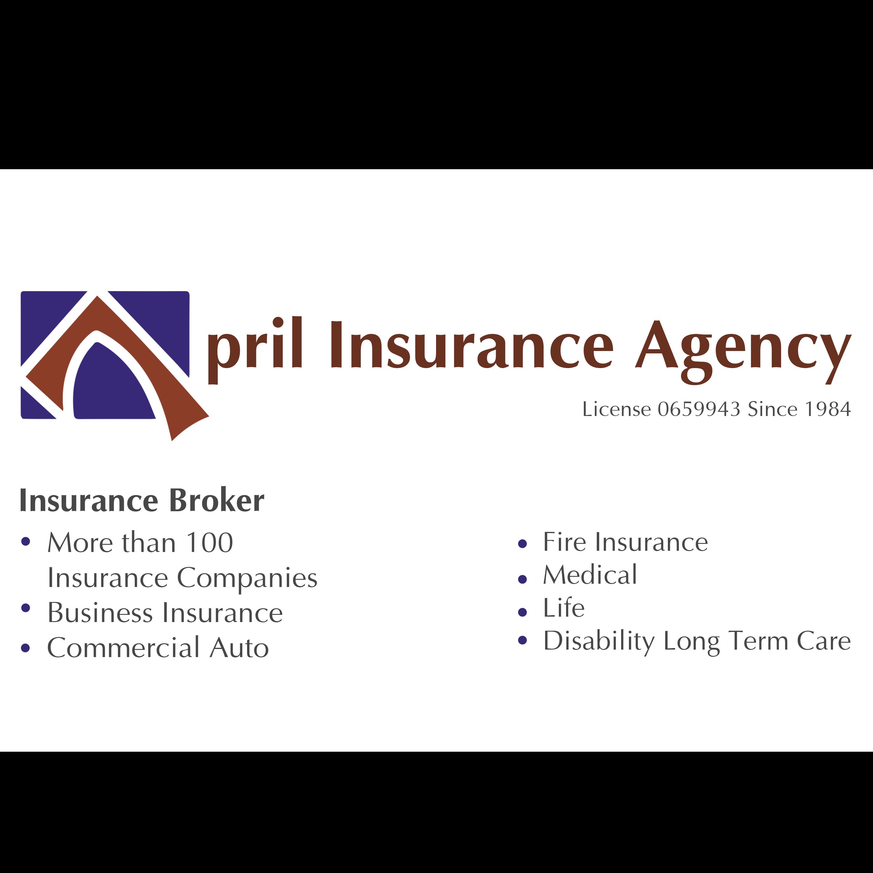 April Insurance agency