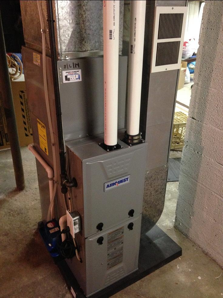 High Efficiency  Furnace and AC package for some long time clients Horseheads NY