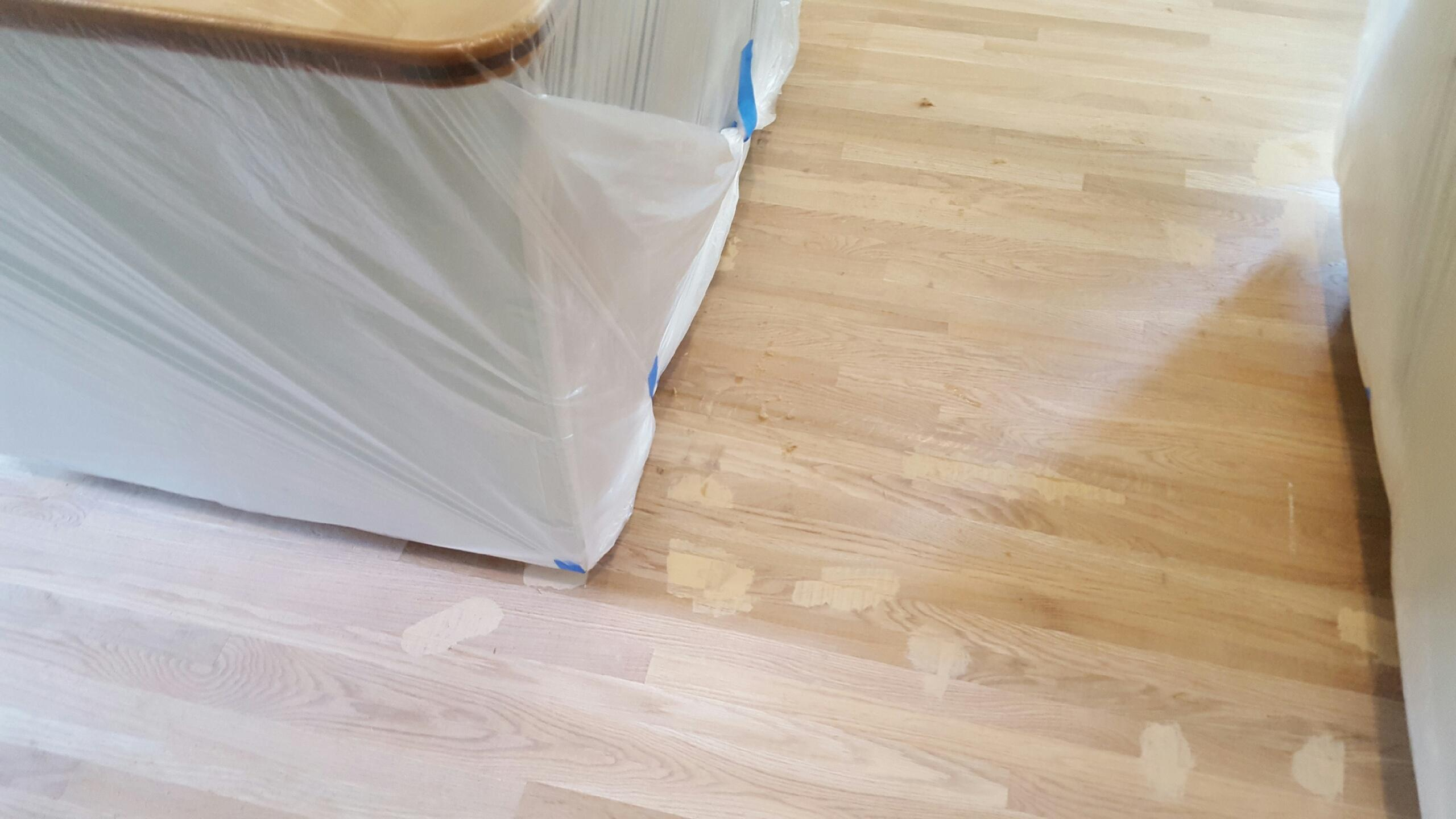 Floors in the kitchen
