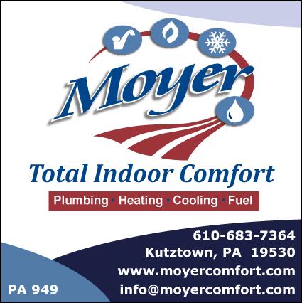 Moyer Total Indoor Comfort In Kutztown Pa 19530 Citysearch