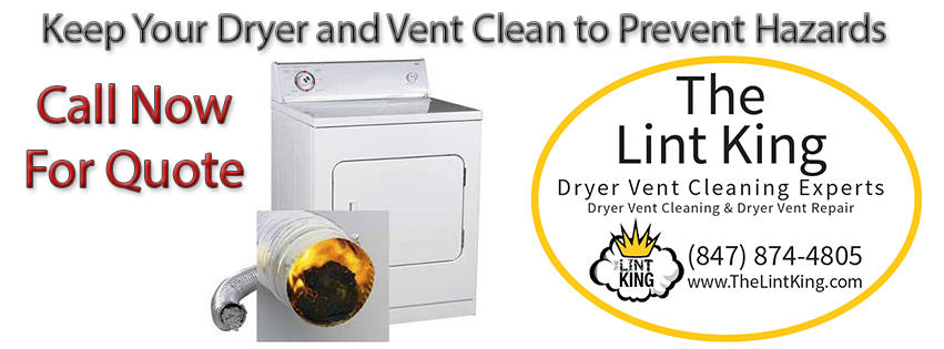 Keep Your Dryer and Vent Clean to Prevent Hazards.