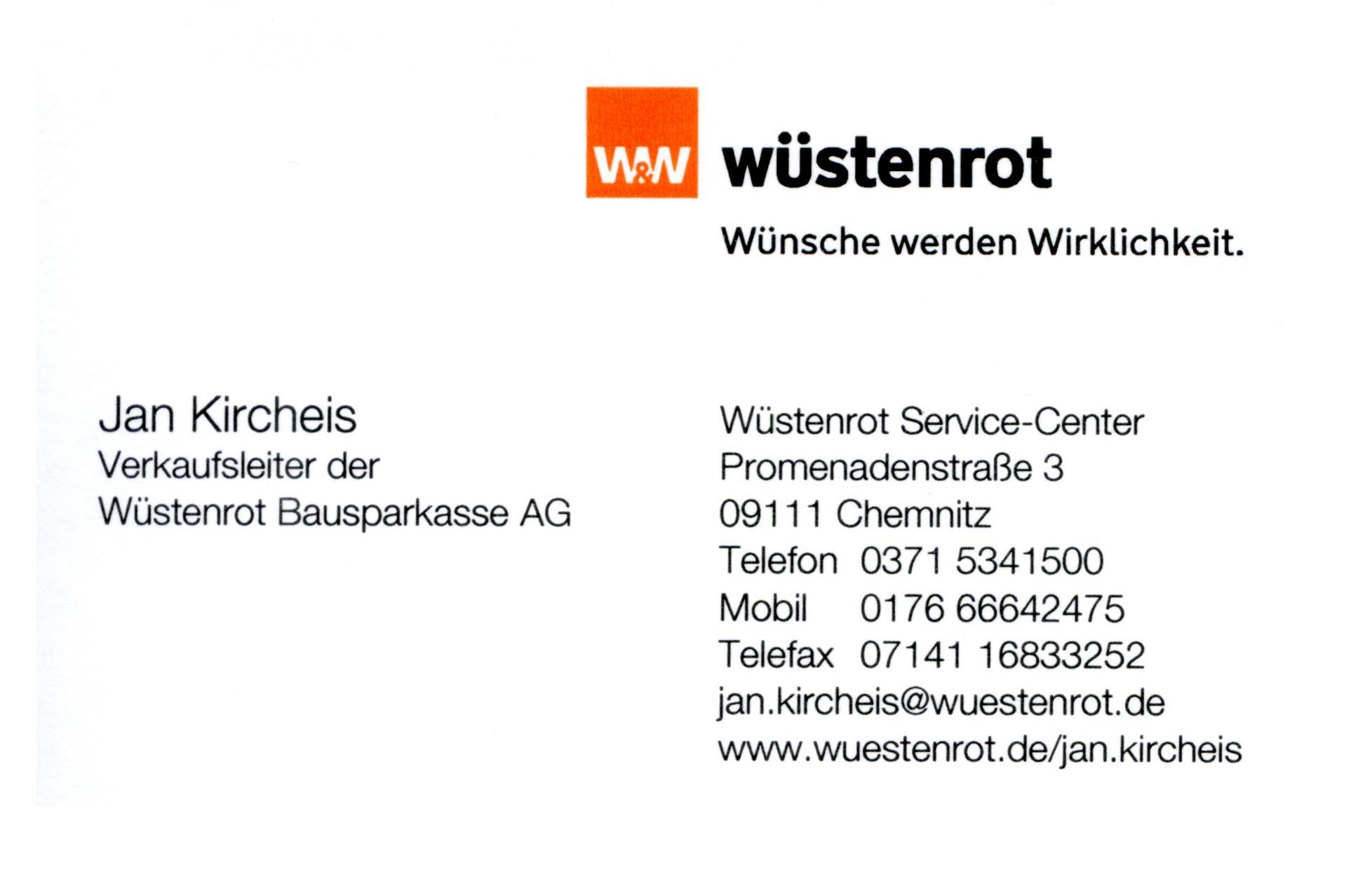Bild der Wüstenrot Bausparkasse AG Jan Kircheis