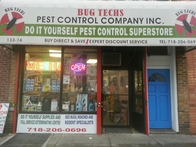 , is Bug Techs Pest Control Company's main office location where customer's calls for pest control services are received and satisfactory answers are given to your questions about pest problems. You can visit us at our office to say hello or place a service order if it's convenient for you. There are a number of professional products available at the office outlet for your own use.
