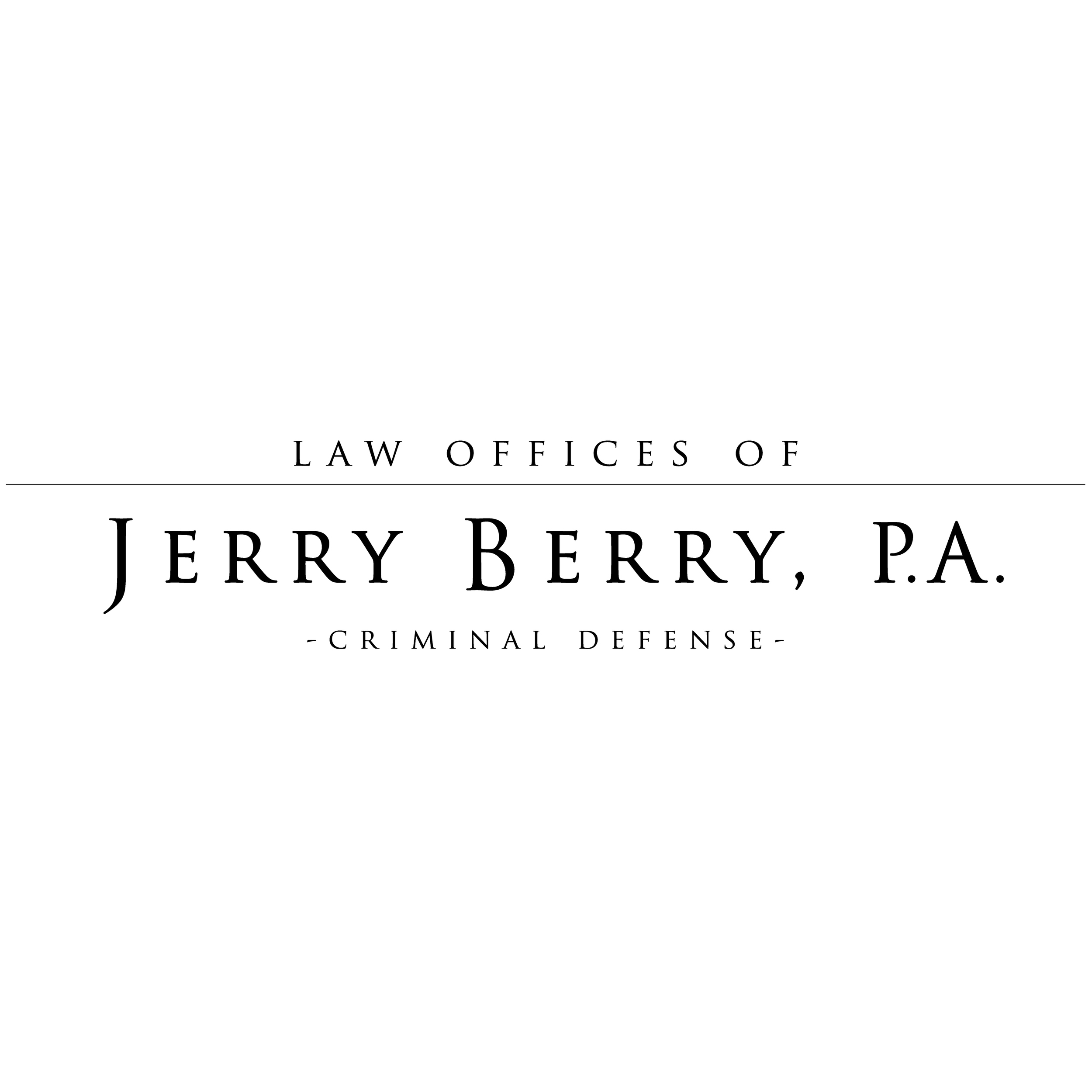 Law Offices of Jerry Berry - Criminal Defense Attorney