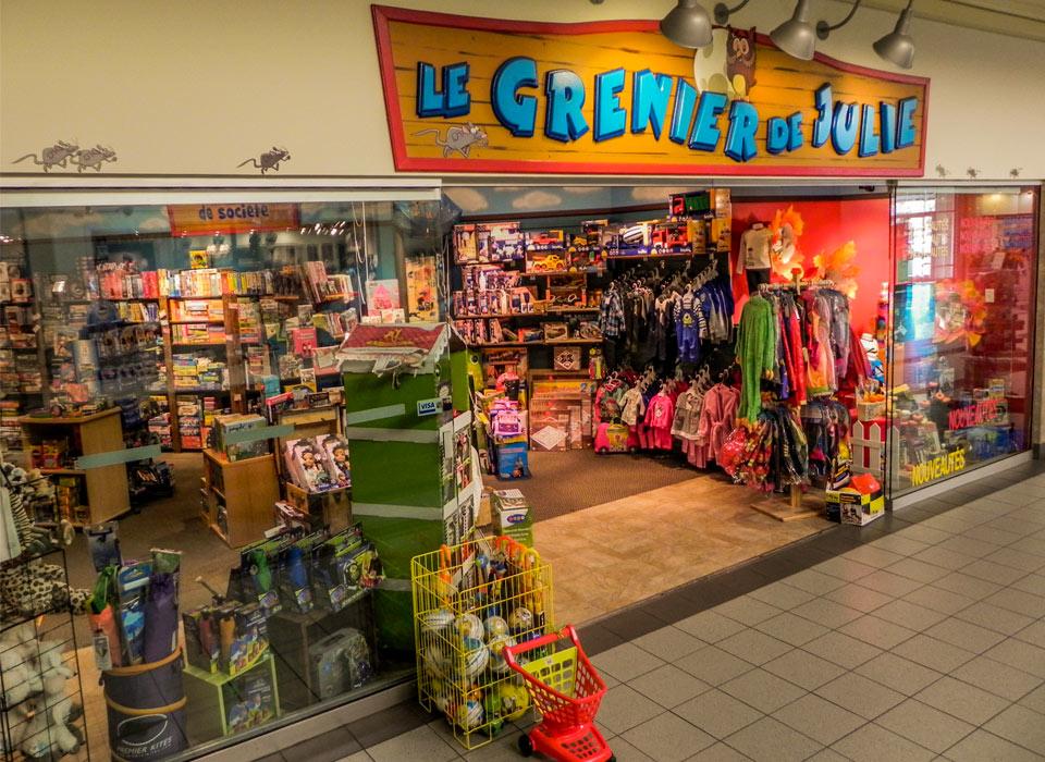 Le Grenier de Julie  à Boucherville