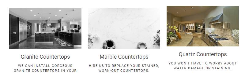 M & C Granite Countertops image 0