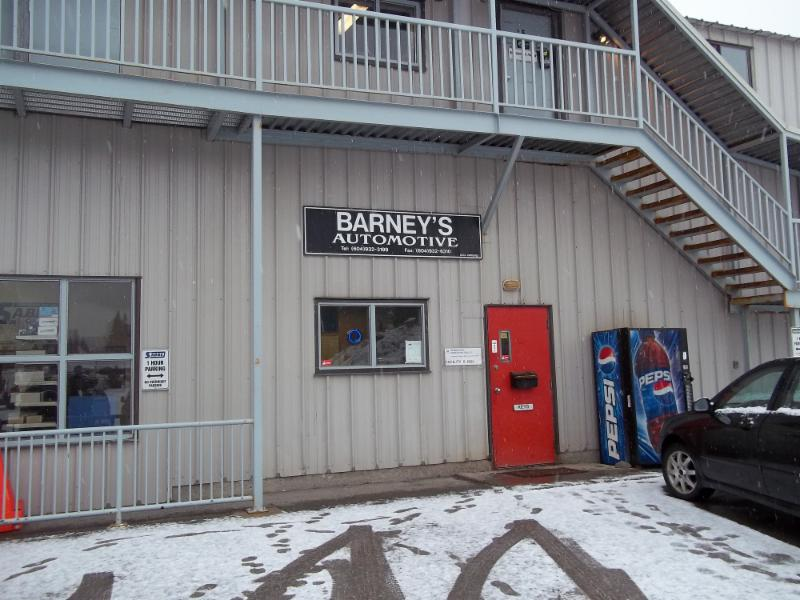 Barney's Automotive in Whistler