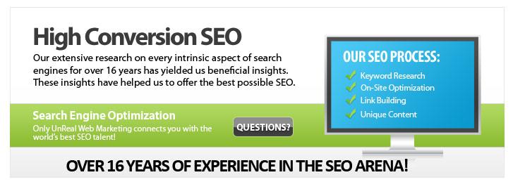 UnReal Web Marketing - ad image