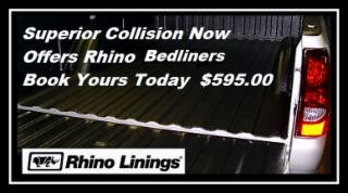 Superior Collision Repairs Ltd in Sidney: Rhino Linings Starting at 595