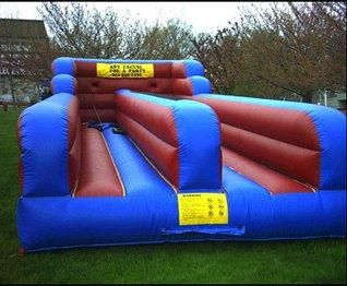 Who's Faster? Try our Bungee Run today!