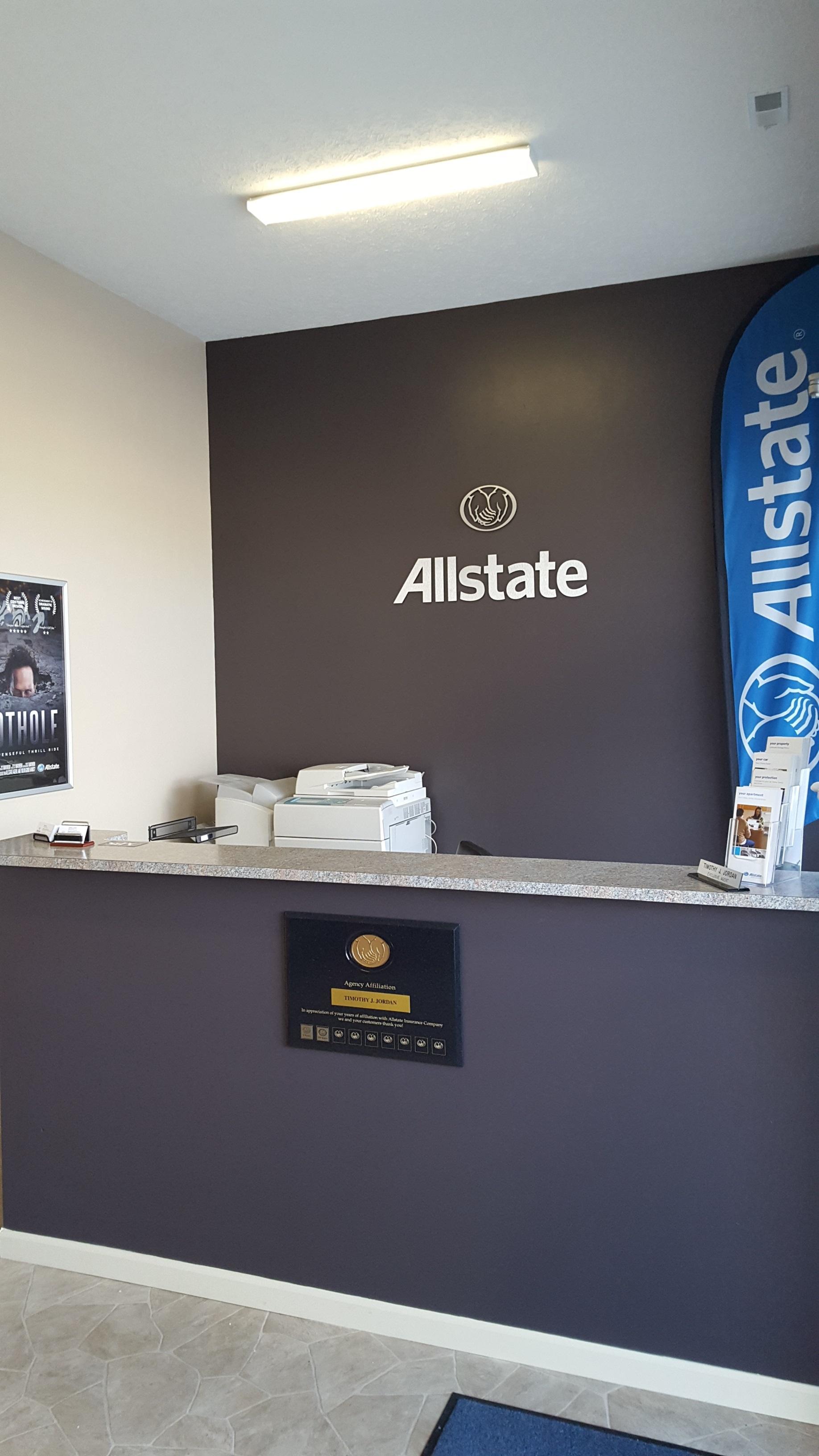 Allstate Insurance Agent: Timothy J. Jordan