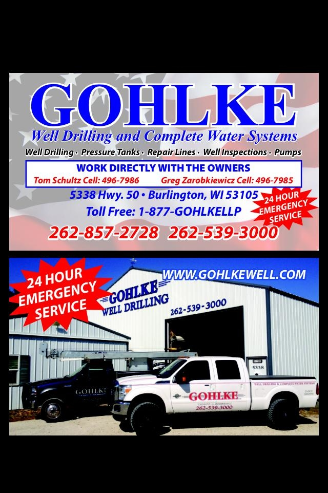 Gohlke LLP Well Drilling & Complete Water Systems