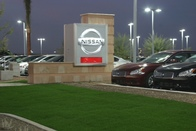 Coulter Nissan Sign