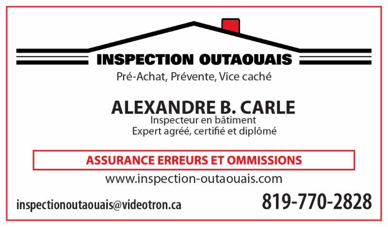 Inspection Outaouais à Gatineau