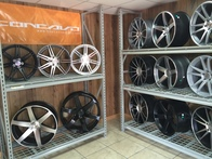 Concavo rims we finance them too.