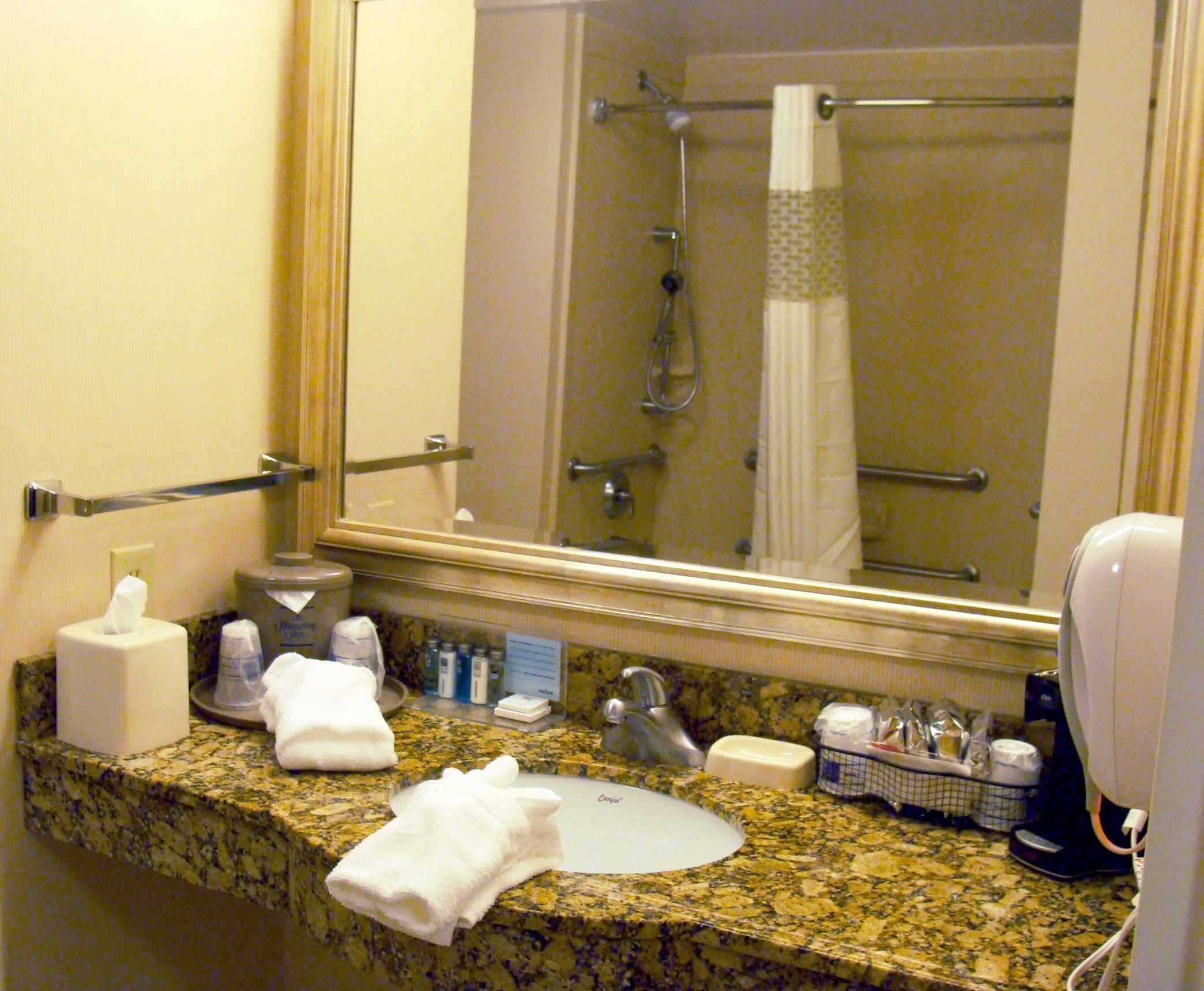 Two Queen Accessible Bathroom