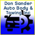 Don Sander Auto Body & Towing Inc