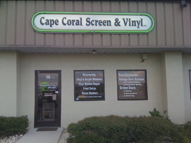 Cape Coral Screen Vinyl Inc In Cape Coral Fl Whitepages