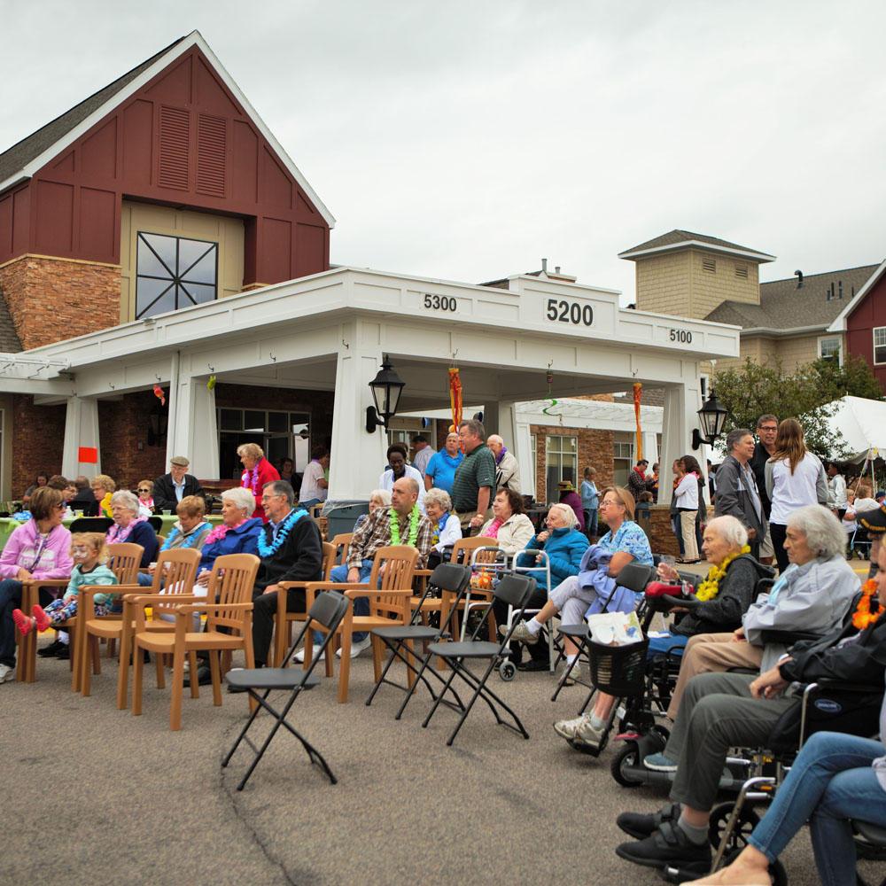 Saint Therese Senior Services At Oxbow Lake At 5200 Oak