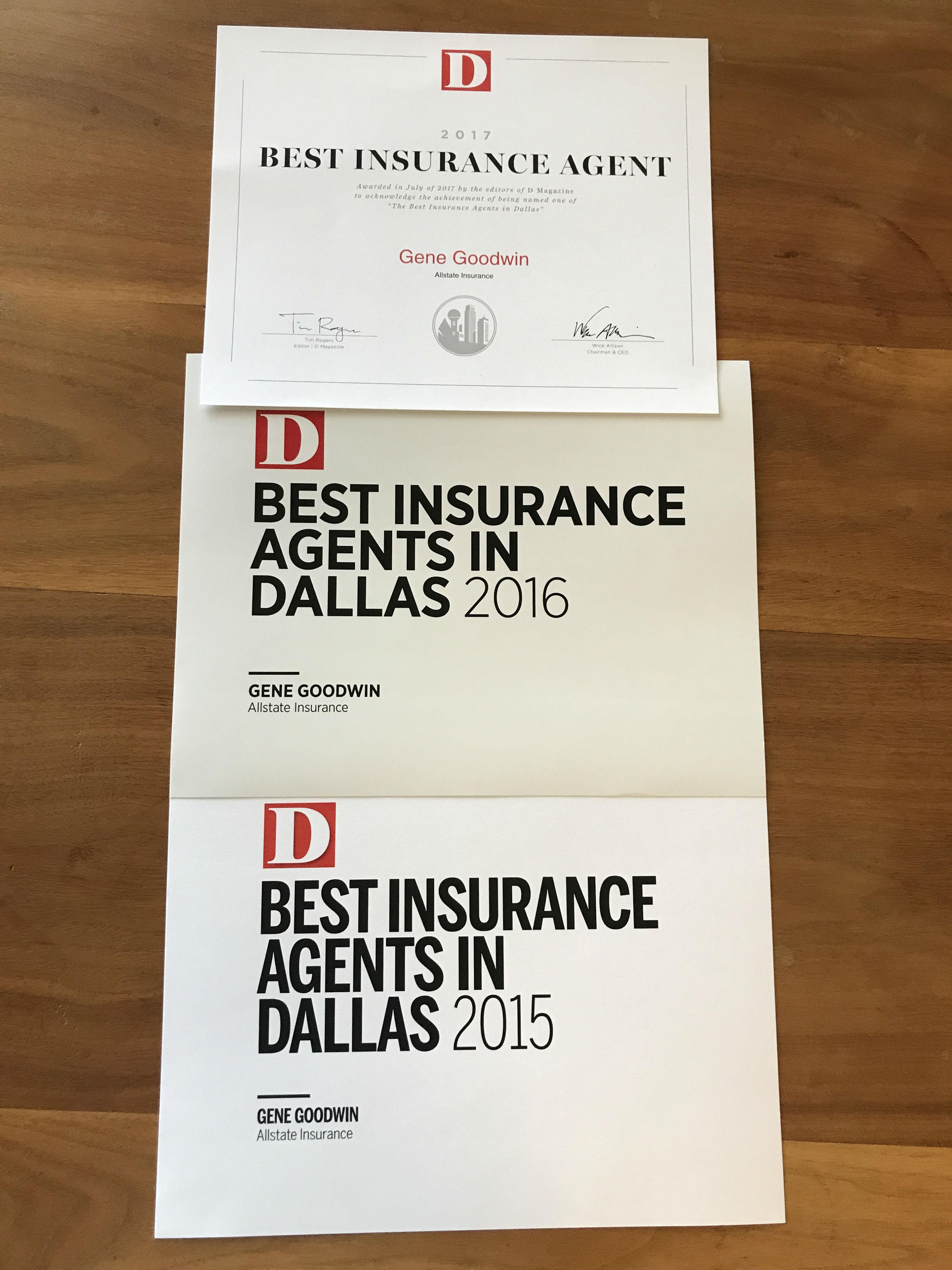 Allstate Insurance Agent: Gene Goodwin