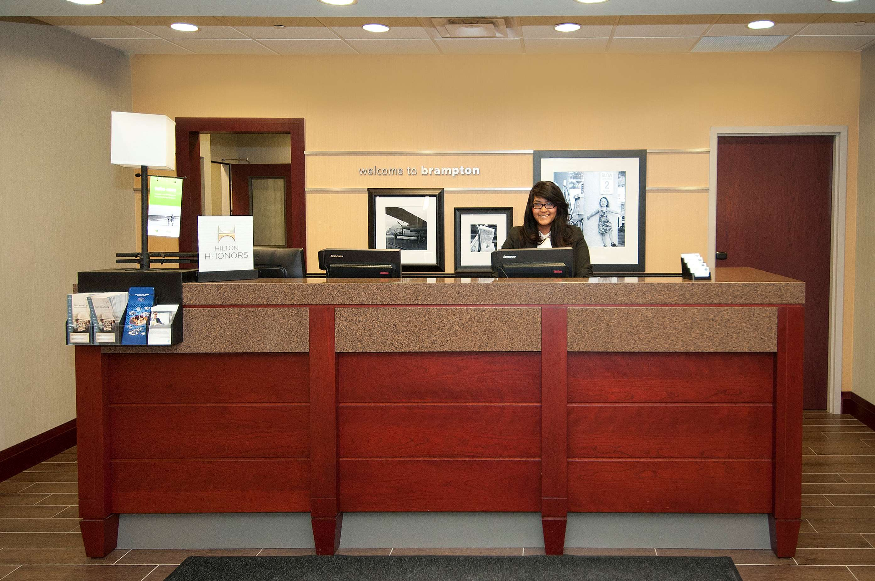 Hampton Inn by Hilton Brampton Toronto in Brampton: Reception