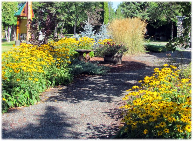 Compassionate Care Funerals in Williams Lake: yellow path