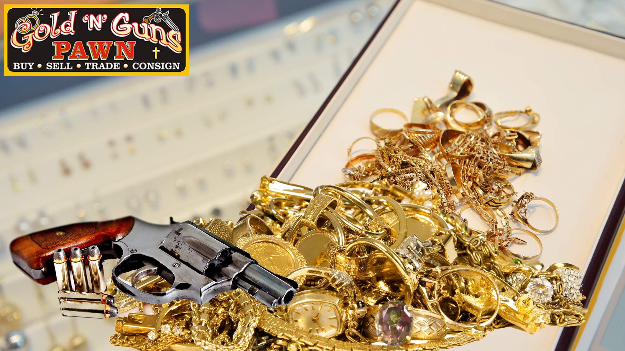 Gold N Guns Pawn image 0