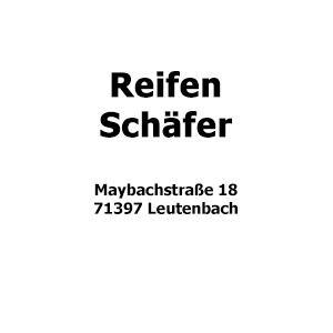 Reifen Schäfer