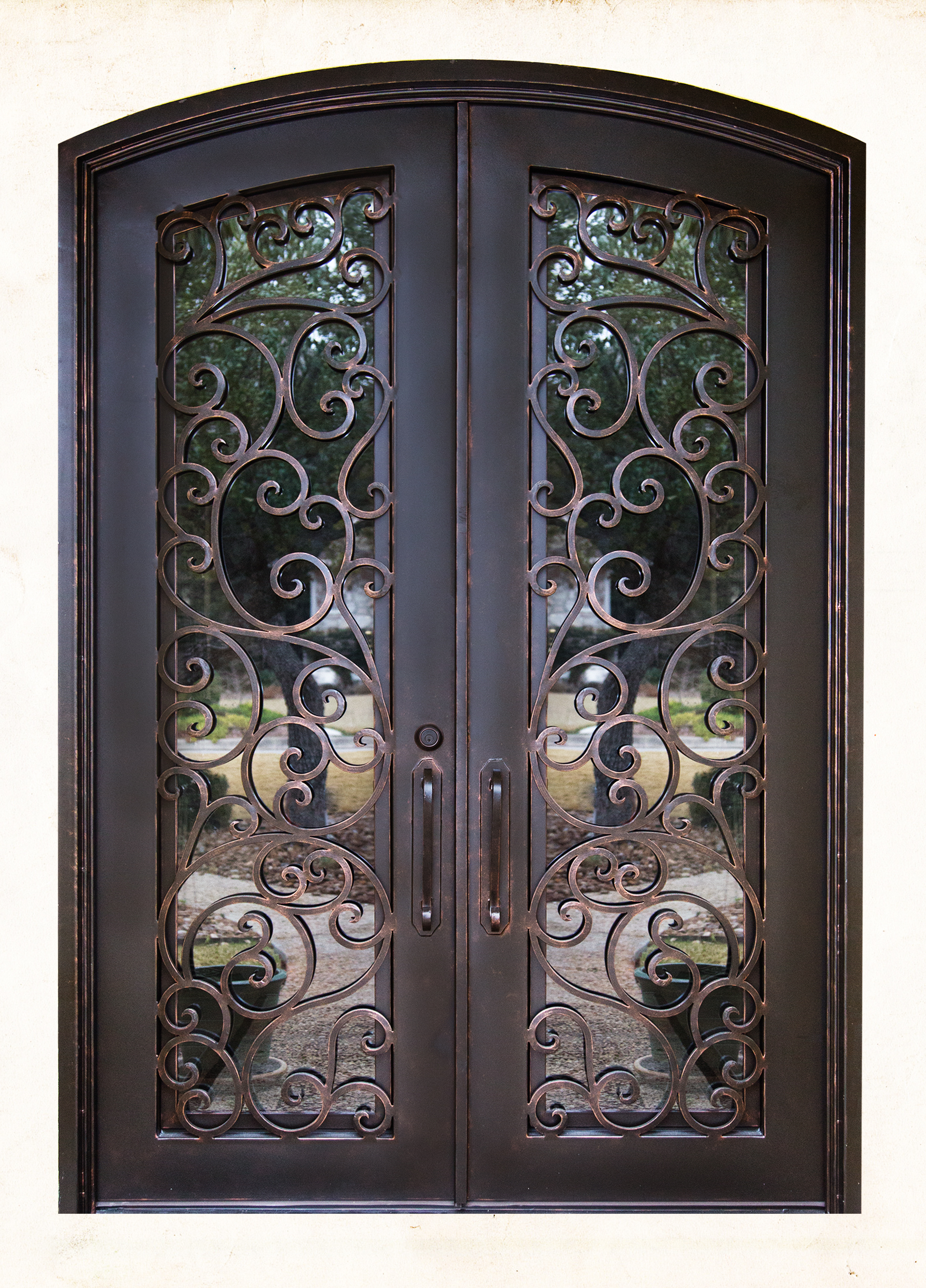 2670 #916A3A Colonial Iron Doors Door Supplier San Antonio TX 78216 picture/photo Entry Doors San Antonio 38991920