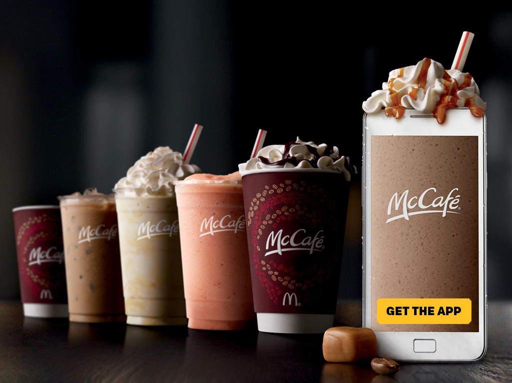 McDonald's McCafé Beverages