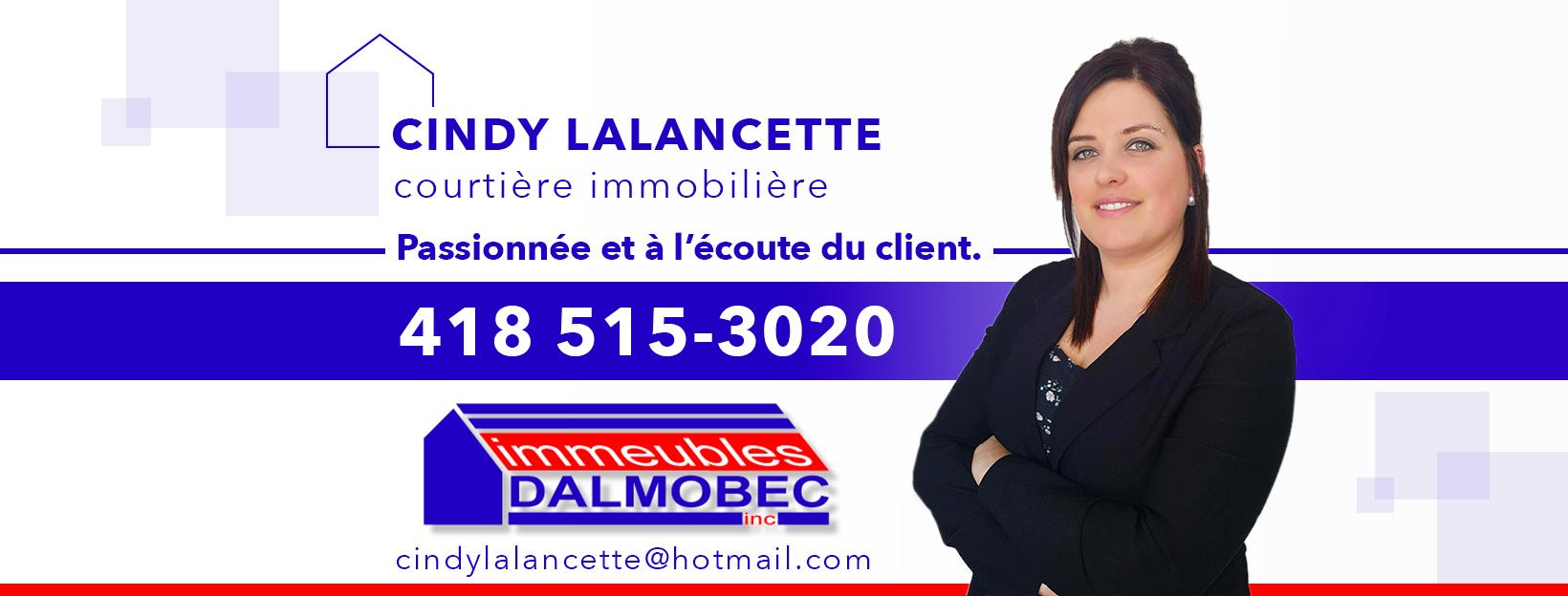 Cindy Lalancette Courtier Immobilier Résidentiel à Saint-Félicien