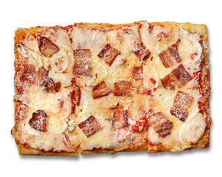 Amatriciana Pizza made by P.ZA Kitchen.