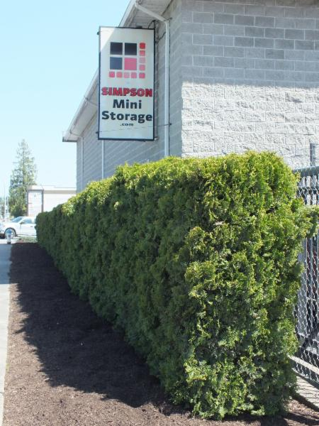 Simpson Mini Storage in Abbotsford