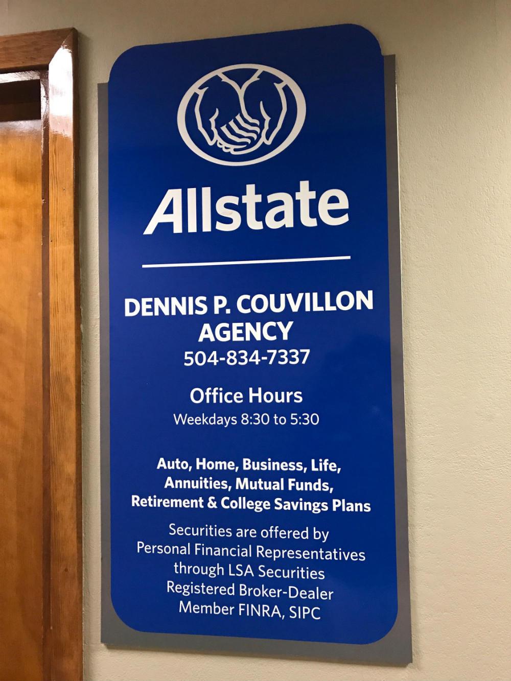 Dennis P. Couvillon: Allstate Insurance image 1