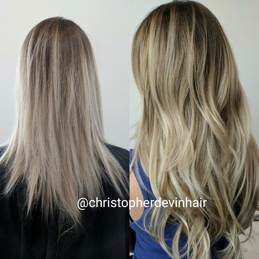 Hair Extensions By Christopher Devin Salon Nuance Washington