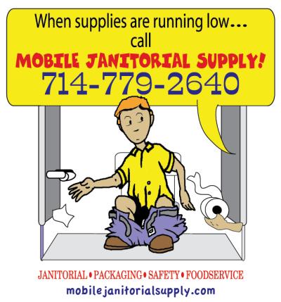 Mobile Janitorial Supply At 3066 E La Palma Ave Anaheim