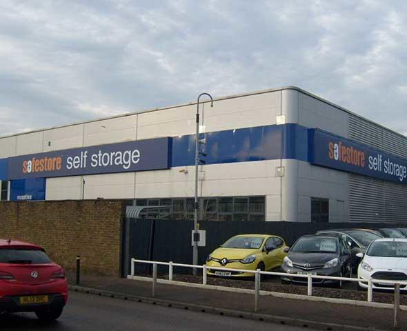 safestore self storage harlow general warehouses and. Black Bedroom Furniture Sets. Home Design Ideas