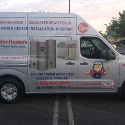 USA Water Heaters & Plumbing Services image 1