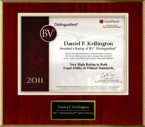 Daniel F. Kellington, Attorney at Law - ad image
