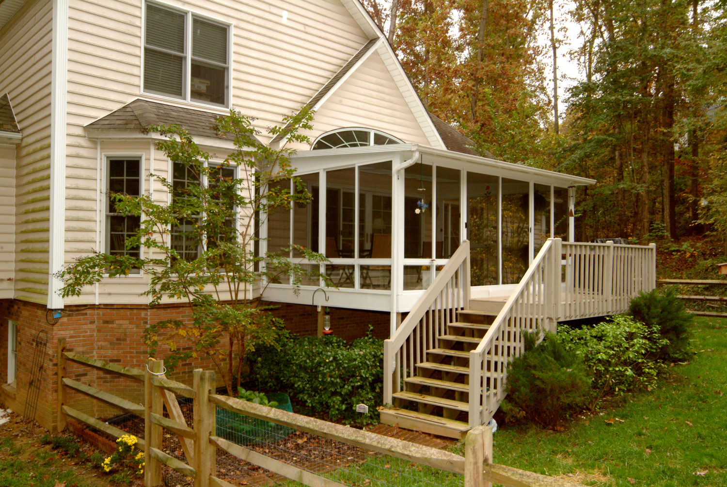 The Pictures of enclosed decks