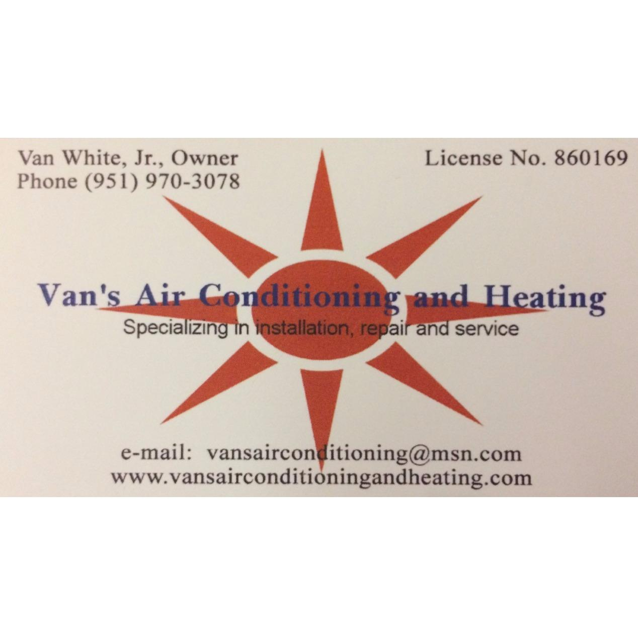 Van's Air Conditioning And Heating