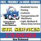 G T K Services - New Richmond, WI - Auto Towing & Wrecking