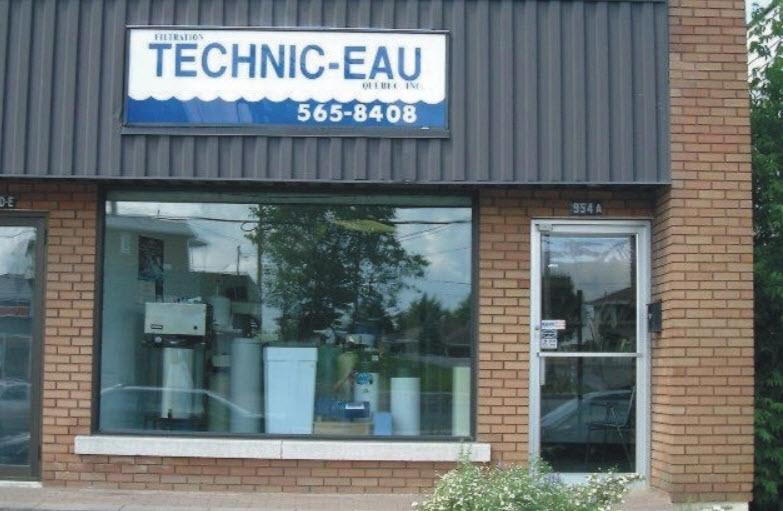 Filtration Technic-Eau Québec Inc à Saint-Jérôme