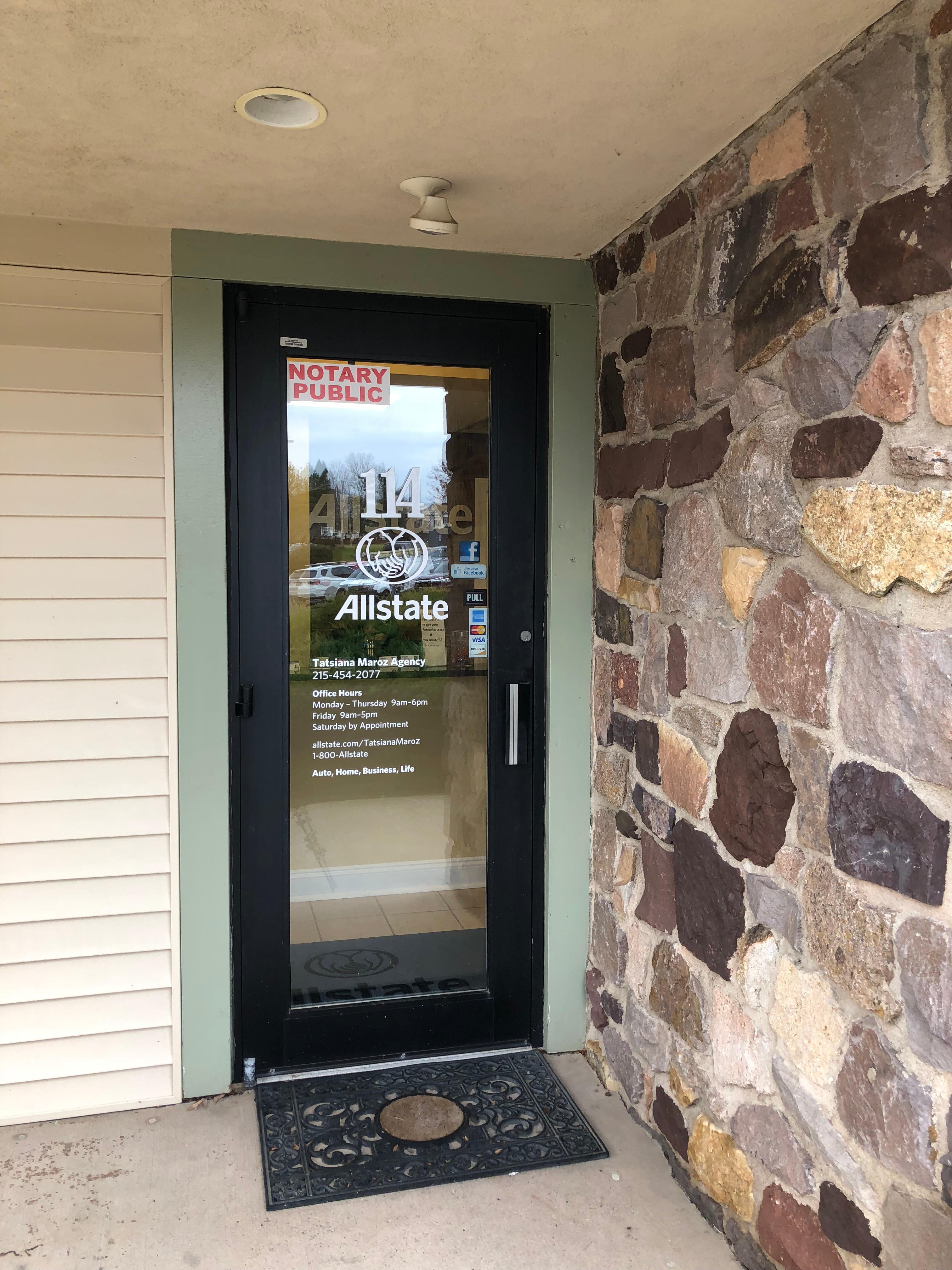 Tatsiana Maroz: Allstate Insurance image 6